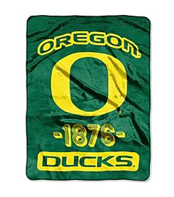 University of Oregon Varsity Micro Raschel Throw