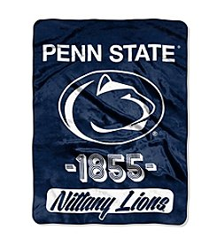 NCAA® Penn State University Varsity Micro Raschel Throw