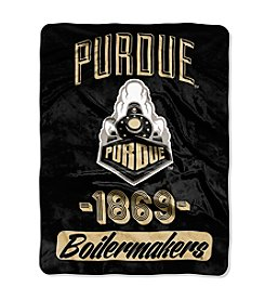 Purdue University Varsity Micro Raschel Throw