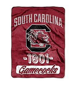 University of South Carolina Varsity Micro Raschel Throw