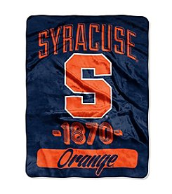 Syracuse University Varsity Micro Raschel Throw