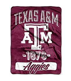 Texas A&M University Varsity Micro Raschel Throw