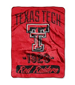 Texas Tech University Varsity Micro Raschel Throw