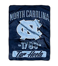 University of North Carolina Varsity Micro Raschel Throw