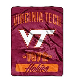 Virginia Tech University Varsity Micro Raschel Throw
