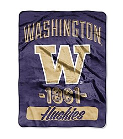 University of Washington Varsity Micro Raschel Throw