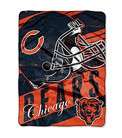 Chicago Bears Deep Slant Micro Raschel Throw