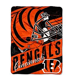 NFL® Cincinnati Bengals Deep Slant Micro Raschel Throw