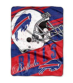 Buffalo Bills Deep Slant Micro Raschel Throw