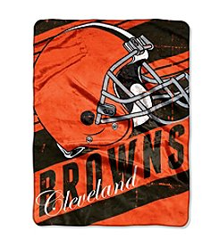 NFL® Cleveland Browns Deep Slant Micro Raschel Throw