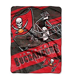 Tampa Bay Buccaneers Deep Slant Micro Raschel Throw