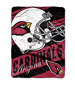 Arizona Cardinals Deep Slant Micro Raschel Throw