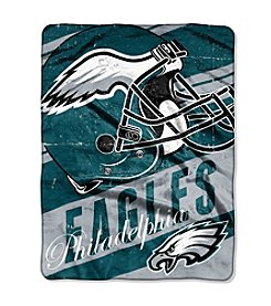 Philadelphia Eagles Deep Slant Micro Raschel Throw