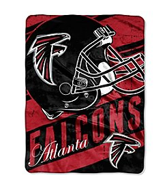 NFL® Atlanta Falcons Deep Slant Micro Raschel Throw