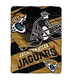 Jacksonville Jaguars Deep Slant Micro Raschel Throw