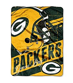 Green Bay Packers Deep Slant Micro Raschel Throw