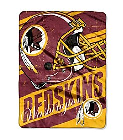 NFL® Washington Redskins Deep Slant Micro Raschel Throw