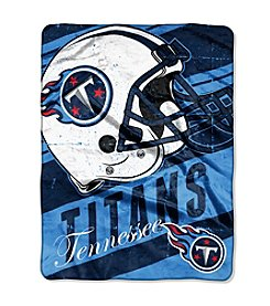 NFL® Tennessee Titans Deep Slant Micro Raschel Throw