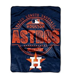 Houston Astros Structure Micro Raschel Throw