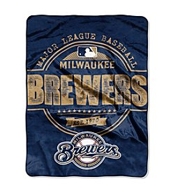 Milwaukee Brewers Structure Micro Raschel Throw