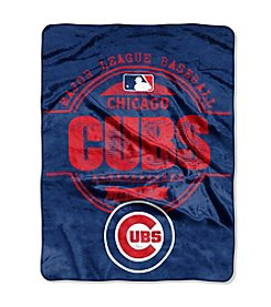 Northwest Company MLB® Chicago Cubs Structure Micro Raschel Throw