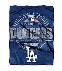 Los Angeles Dodgers Structure Micro Raschel Throw