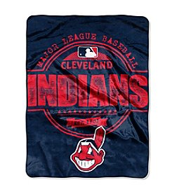 MLB® Cleveland Indians Structure Micro Raschel Throw