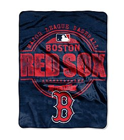 Boston Red Sox Structure Micro Raschel Throw