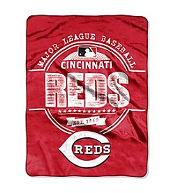 MLB® Cincinnati Reds Structure Micro Raschel Throw