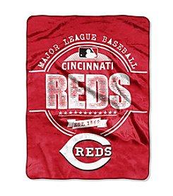 Cincinnati Reds Structure Micro Raschel Throw