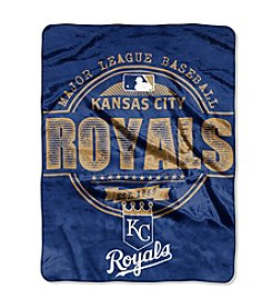 MLB® Kansas City Royals Structure Micro Raschel Throw