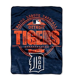 MLB® Detroit Tigers Structure Micro Raschel Throw