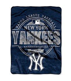 New York Yankees Structure Micro Raschel Throw