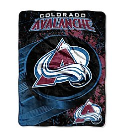 Colorado Avalanche Ice Dash Micro Raschel Throw