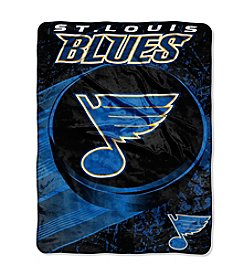 St. Louis Blues Ice Dash Micro Raschel Throw