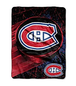 Montreal Canadiens Ice Dash Micro Raschel Throw