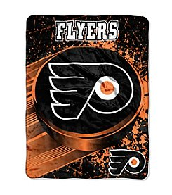 Philadelphia Flyers Ice Dash Micro Raschel Throw