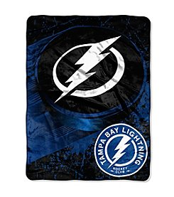 Tampa Bay Lightning Ice Dash Micro Raschel Throw