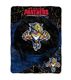 Florida Panthers Ice Dash Micro Raschel Throw