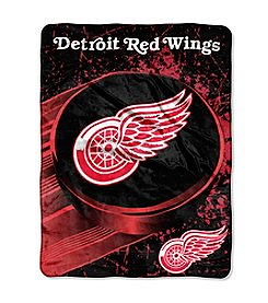 Detroit Red Wings Ice Dash Micro Raschel Throw