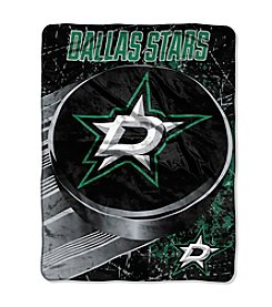 Dallas Stars Ice Dash Micro Raschel Throw
