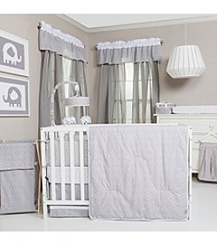 Trend Lab Gray and White Circles Baby Bedding Collection