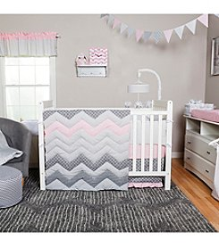 Trend Lab Cotton Candy Chevron Baby Bedding Collection