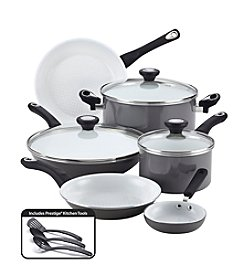 Farberware® purECOok 12-pc. Grey Cookware Set