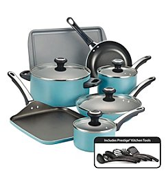 Farberware® High Performance 17-pc. Aqua Cookware Set