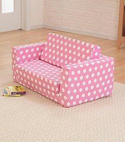 KidKraft Pink Polka Dots Lil Lounger