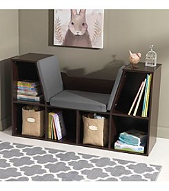 KidKraft Brown Bookcase with Reading Nook