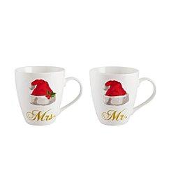 Pfaltzgraff® Holiday Mr. And Mrs. Set Of 2 Mugs