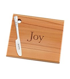 Lenox® Joy Wood Board With Knife