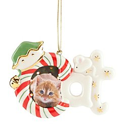 Lenox® Cat Frame Ornament And Magnet